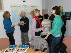 Speakeasy - kostenloses Englischkonversationstraining in Augsburg